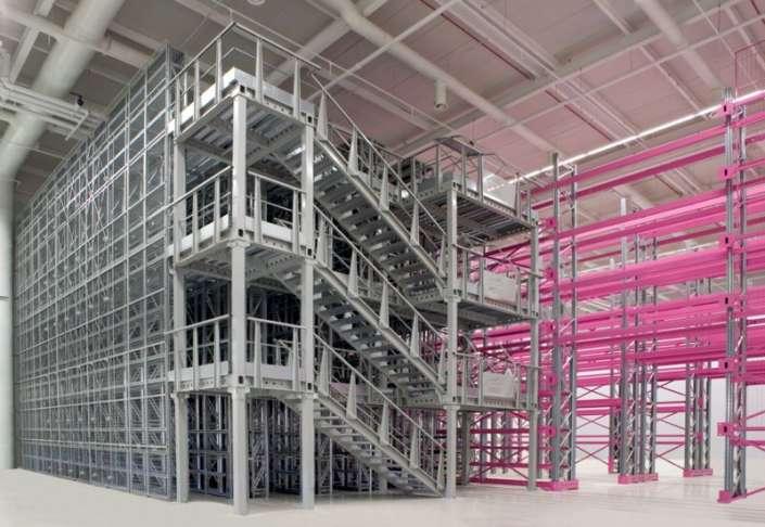 Platforma mezanin, platforme metalice mezanin