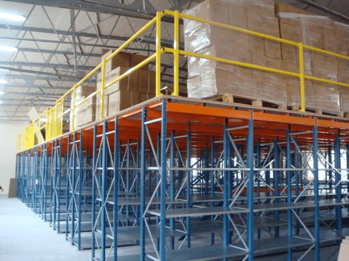 Platforma modulara, platforme metalice modulare